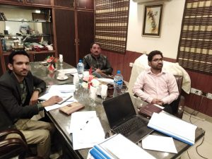 Lahore Zone Team Quarterly Review Meeting with ZSM Lahore
