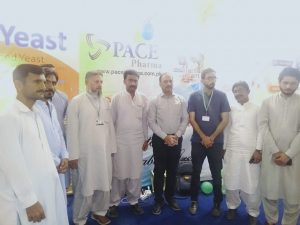 Pace Pharma Pvt. Ltd. Stall in Sindh Livestock Expo, Hyderabad, March 2021