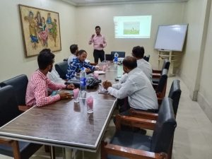 Technical Training Session of team with Assistant Product Manager and Zonal Sales Manager-1