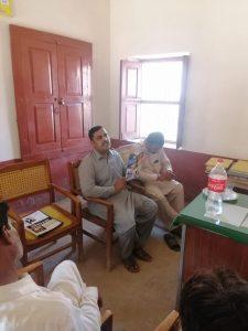 Veterinary Assistant (VA) meeting at CVH Bagh o Bahar, Khanpur