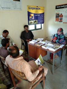 Veterinary Officers (VO) and Veterinary Assistants ( VA) meeting in CVD Lalmier, Kot Addu